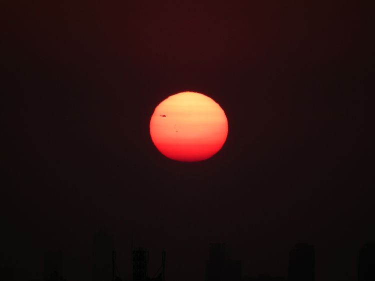 Sunset20120614_sun